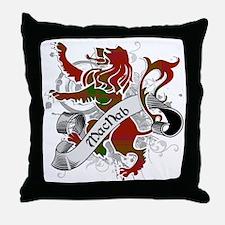 MacNab Tartan Lion Throw Pillow
