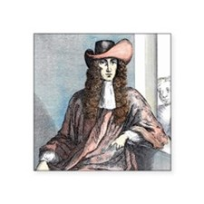 "James Whitney- highwayman,  Square Sticker 3"" x 3"""