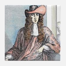 James Whitney- highwayman, born 1660. Tile Coaster