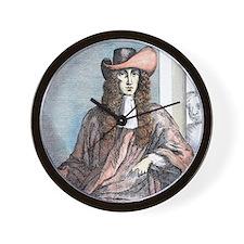 James Whitney- highwayman, born 1660. Wall Clock