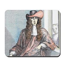 James Whitney- highwayman, born 1660. Mousepad
