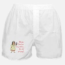 Nurse Mandatory Overtime Boxer Shorts