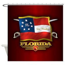 Florida-Deo Vindice Shower Curtain