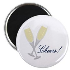 Champagne Cheers Magnets