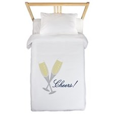 Champagne Cheers Twin Duvet