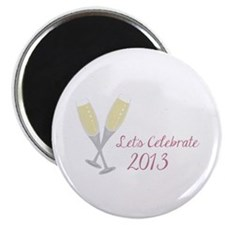 """Let""""s Celebrate 2013 Magnets"""