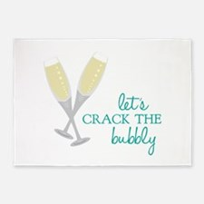 Crack the Bubbly 5'x7'Area Rug