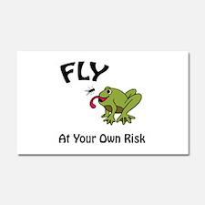 Risky Flight Car Magnet 20 x 12