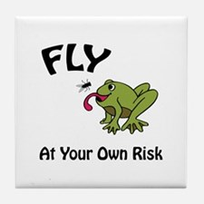 Risky Flight Tile Coaster