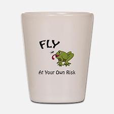 Risky Flight Shot Glass