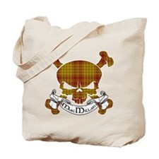 MacMillan Tartan Skull Tote Bag