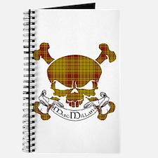 MacMillan Tartan Skull Journal