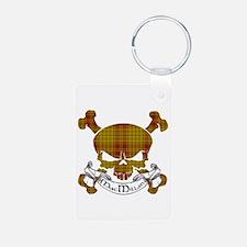 MacMillan Tartan Skull Keychains