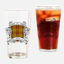 MacMillan Tartan Shield Drinking Glass