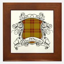 MacMillan Tartan Shield Framed Tile