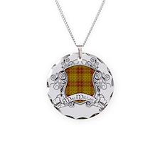 MacMillan Tartan Shield Necklace