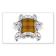 MacMillan Tartan Shield Decal
