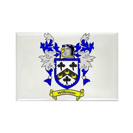 WILKINSON Family Crest Rectangle Magnet (10 pack)
