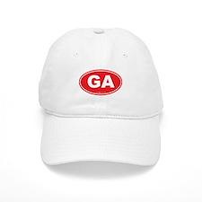 Georgia GA Euro Oval Baseball Cap
