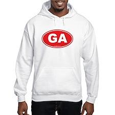 Georgia GA Euro Oval Hoodie