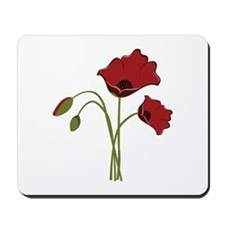 Bunch Of Poppies Mousepad