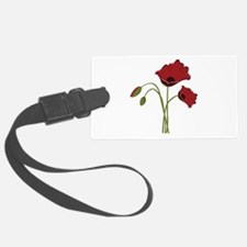 Bunch Of Poppies Luggage Tag