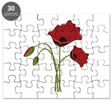 Bunch Of Poppies Puzzle