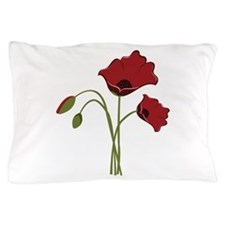 Bunch Of Poppies Pillow Case