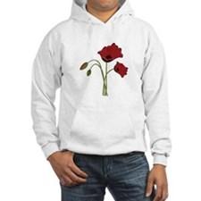 Bunch Of Poppies Hoodie