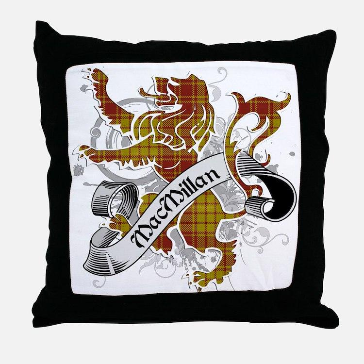 MacMillan Tartan Lion Throw Pillow