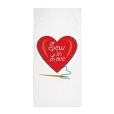 Sew In Love Beach Towel