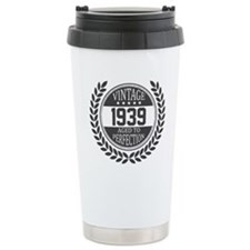 Vintage 1939 Aged To Perfection Travel Mug