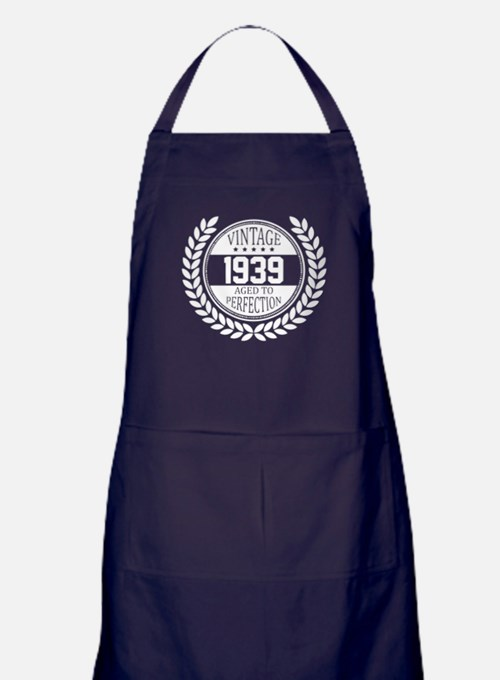 Vintage 1939 Aged To Perfection Apron (dark)