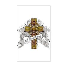MacMillan Tartan Cross Decal