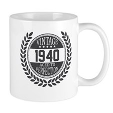 Vintage 1940 Aged To Perfection Mugs