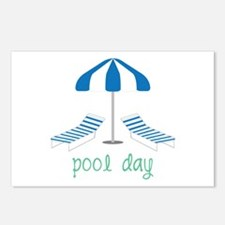 Pool Day Postcards (Package of 8)