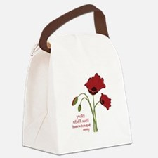 A Thought Away Canvas Lunch Bag