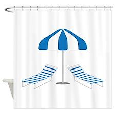 Sunning Shower Curtain