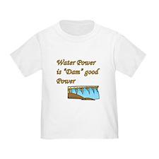 water power is dam good power.png T-Shirt