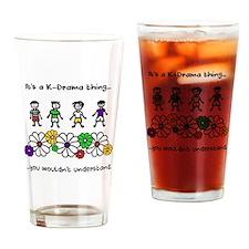 Cute Korean Drinking Glass
