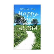 Happy place with Aloha Decal
