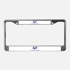 AVA Fun, Fitness, Friendship License Plate Frame