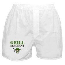 Grill Sergeant Boxer Shorts