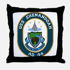 USS Shenandoah (AD 44) Throw Pillow