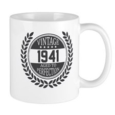 Vintage 1941 Aged To Perfection Mugs