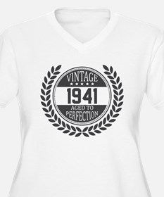 Vintage 1941 Aged To Perfection Plus Size T-Shirt
