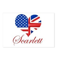 Scarlett Postcards (Package of 8)