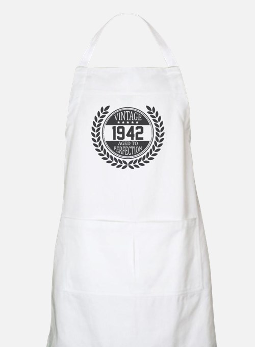 Vintage 1942 Aged To Perfection Apron