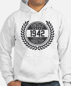 Vintage 1942 Aged To Perfection Hoodie
