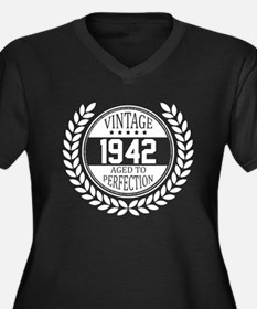 Vintage 1942 Aged To Perfection Plus Size T-Shirt